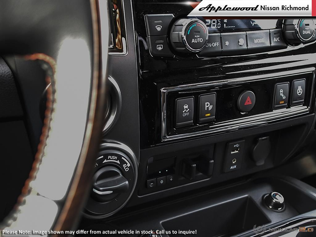 Nissan Titan Platinum Vehicle Details Image